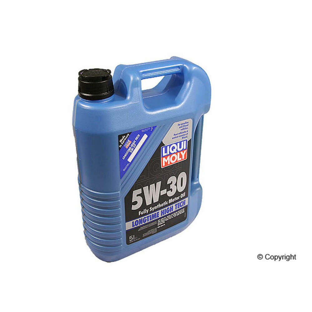 Liqui moly 5w30 high tech full synthetic motor oil 2039 for Bmw 5w30 synthetic motor oil