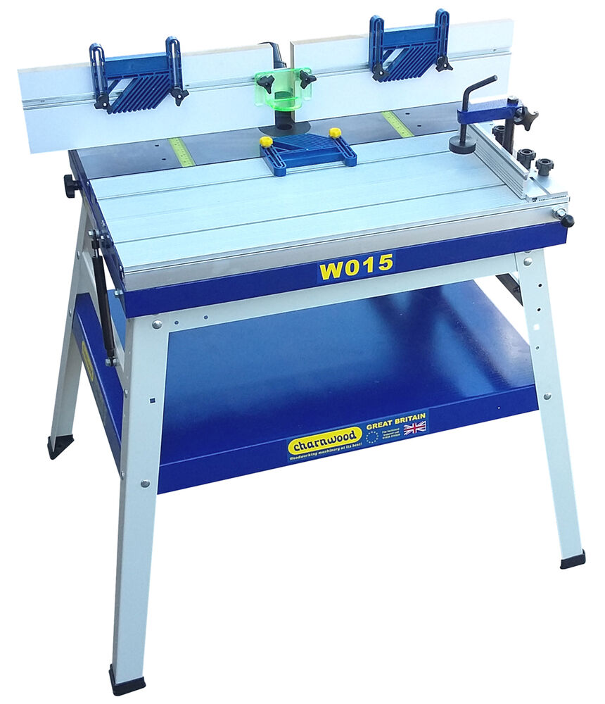 Charnwood w015 floorstanding router table with sliding for Table router