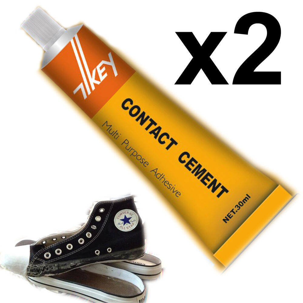 Contact Cement Glue Adhesive Rubber Leather Fabrics Patch