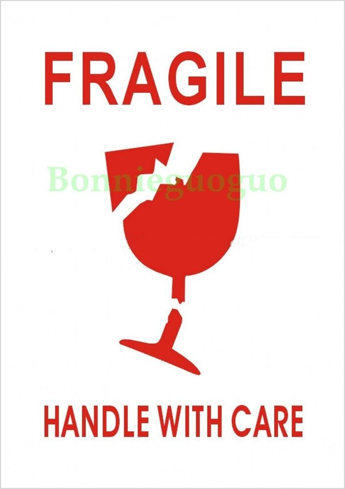It's just a photo of Canny Fragile Stickers Printable