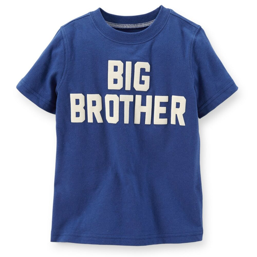 """~NEW~ """"COOL BIG BRO"""" BROTHER Baby Boys Shirt 2T 3T 4T 5T ..."""
