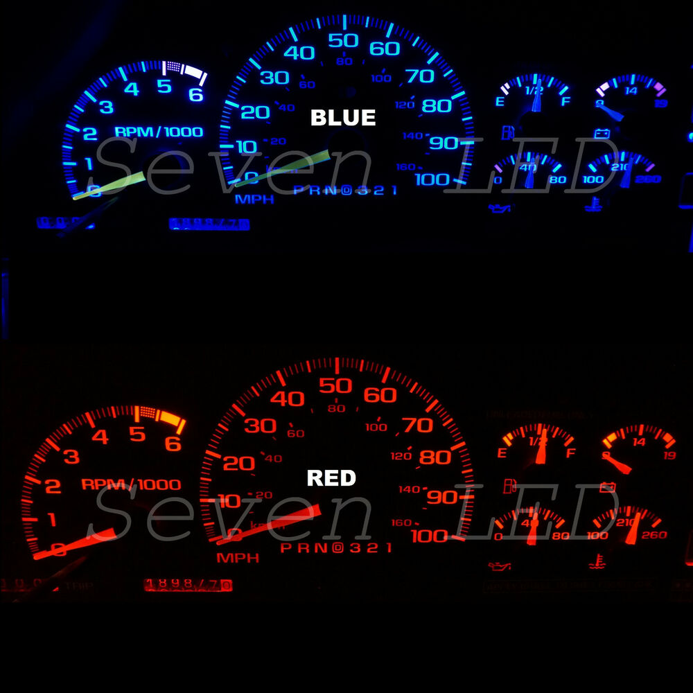 how to change speedometer light color