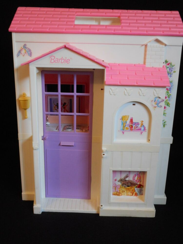 Vintage Barbie Dollhouse Voyeur Rooms
