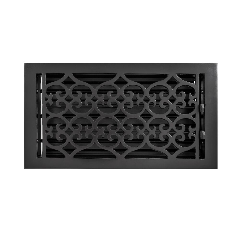 naiture cast iron wall register old victorian style in 9 sizes ebay. Black Bedroom Furniture Sets. Home Design Ideas