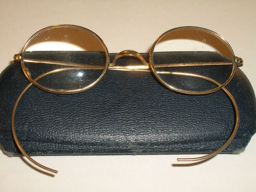 ce858bea754 Details about VINTAGE STCCO 1 10 12K GF WIRE TRADITIONALS OVAL EYEGLASSES  FRAMES ONLY