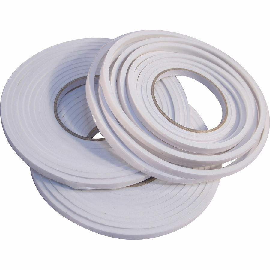3 x foam draught excluder weather seal strip insulation door window ebay - Weather proofing your home with weather strips and draft stoppers ...