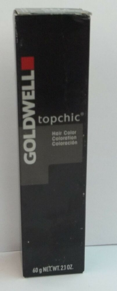 Goldwell Topchic Professional Permanent Hair Color Tubes