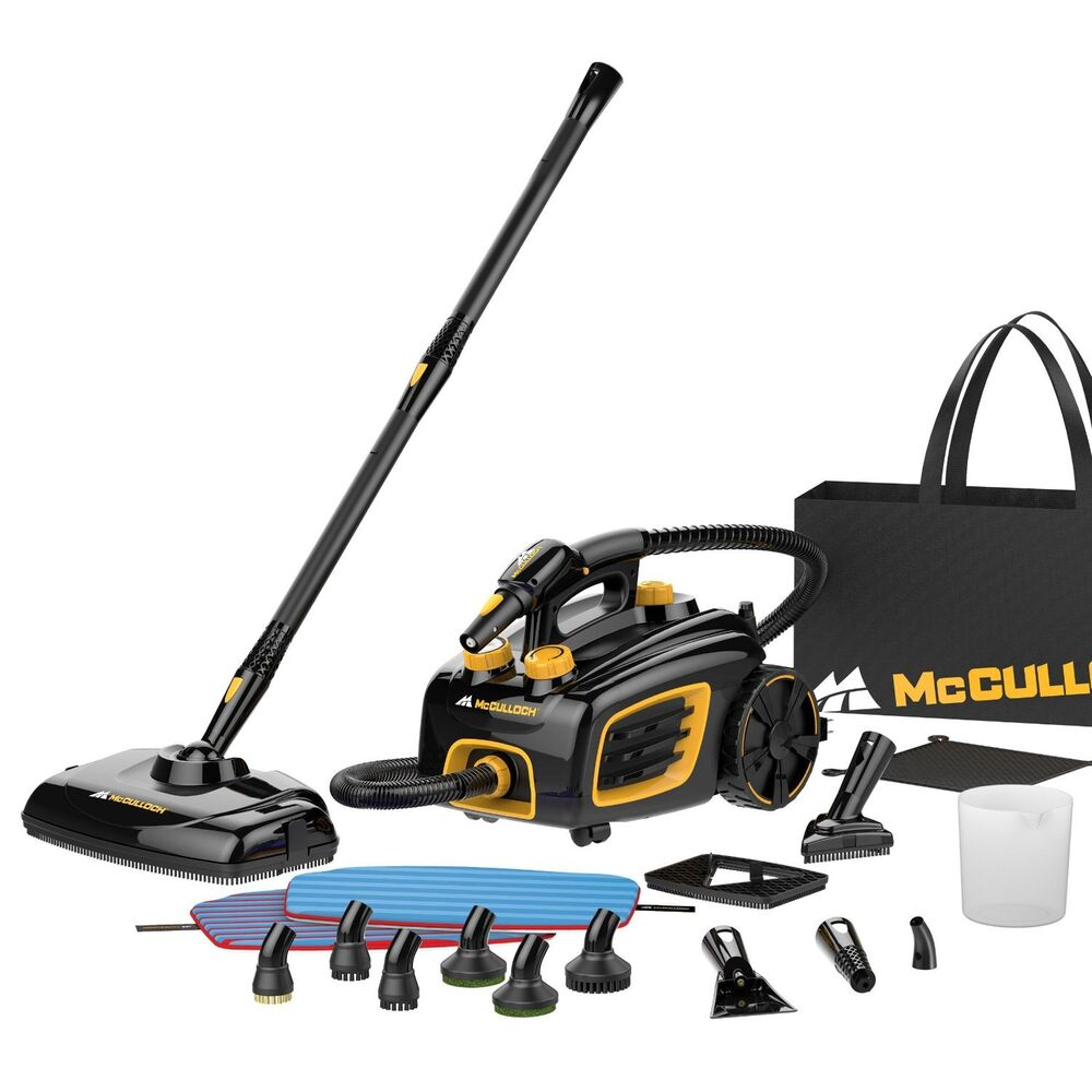 Heavy Duty Steam Cleaner Floor Cleaning Canister Home Auto