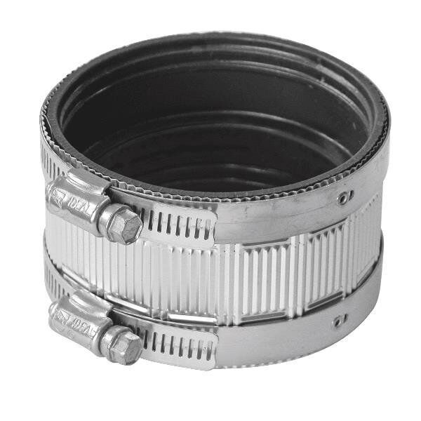 Fernco quot no hub waste sewer cast iron soil pipe coupling