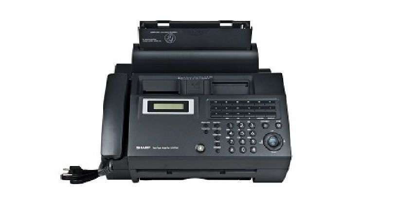 Sharp Ux B750 Inkjet Fax Machine W Built In Phone