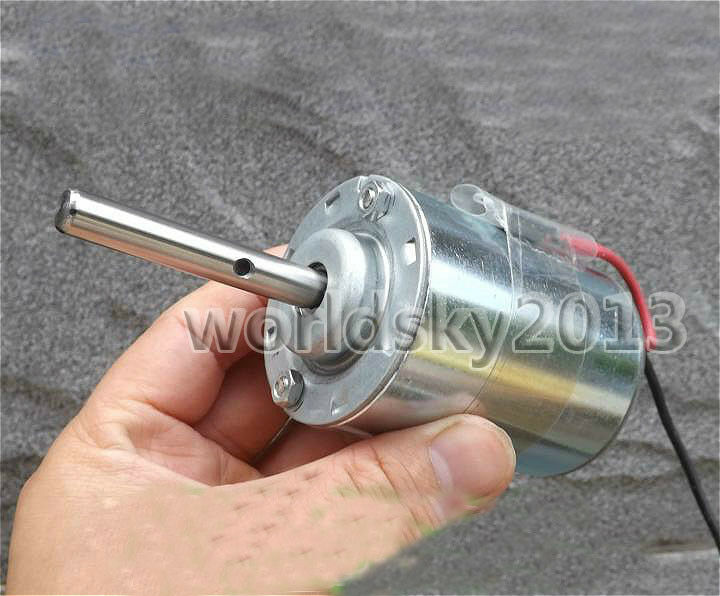 Dc12v 2800rpm Dc Brush Motor With Temperature Protection