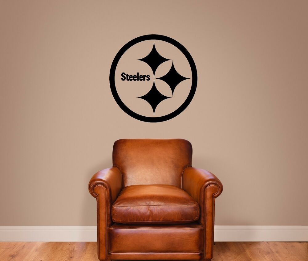 pittsburgh steelers vinyl wall decal graphic sticker With best 20 steelers wall decals
