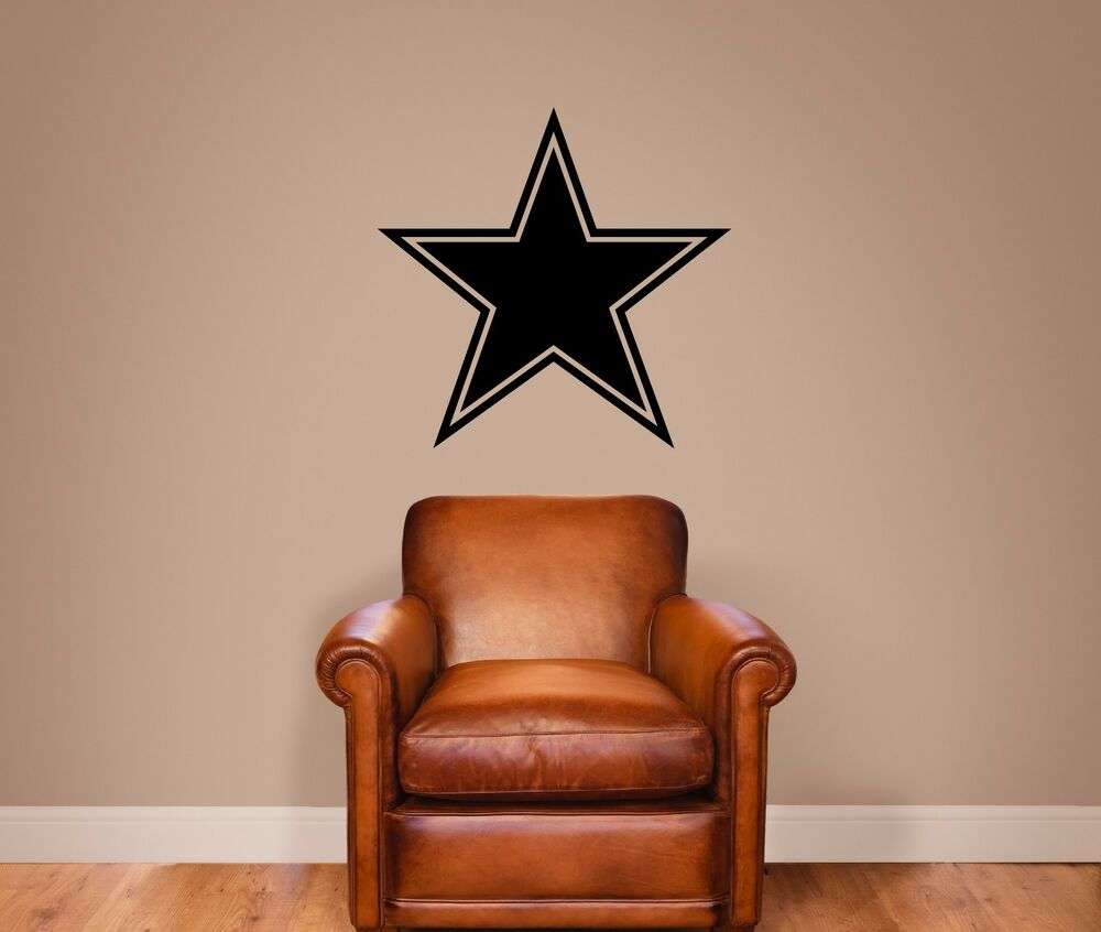 Dallas Cowboys Vinyl Wall Decal Graphic Sticker Large