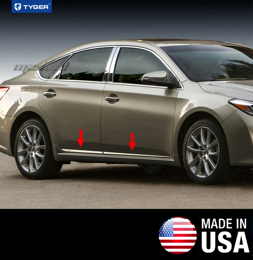 2013 Toyota Avalon Exterior: TYGER Fits 2013-2017 Toyota Avalon Lower Accent Body Side
