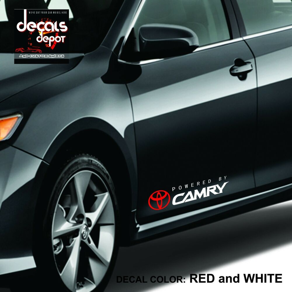 Decal Vinyl Graphics Fits Toyota Camry Le Xle Se 2005 To
