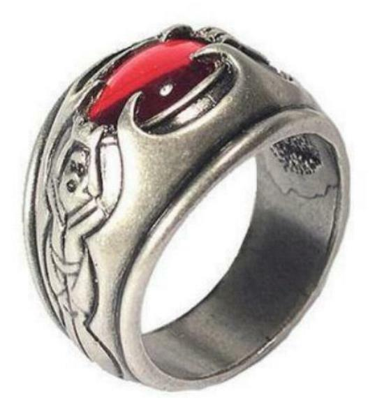 Lotr Lord Rings Witch King Ring Original Official With