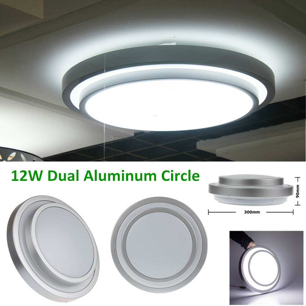 Bright 12W LED Flush Mounted Ceiling Downlight Wall