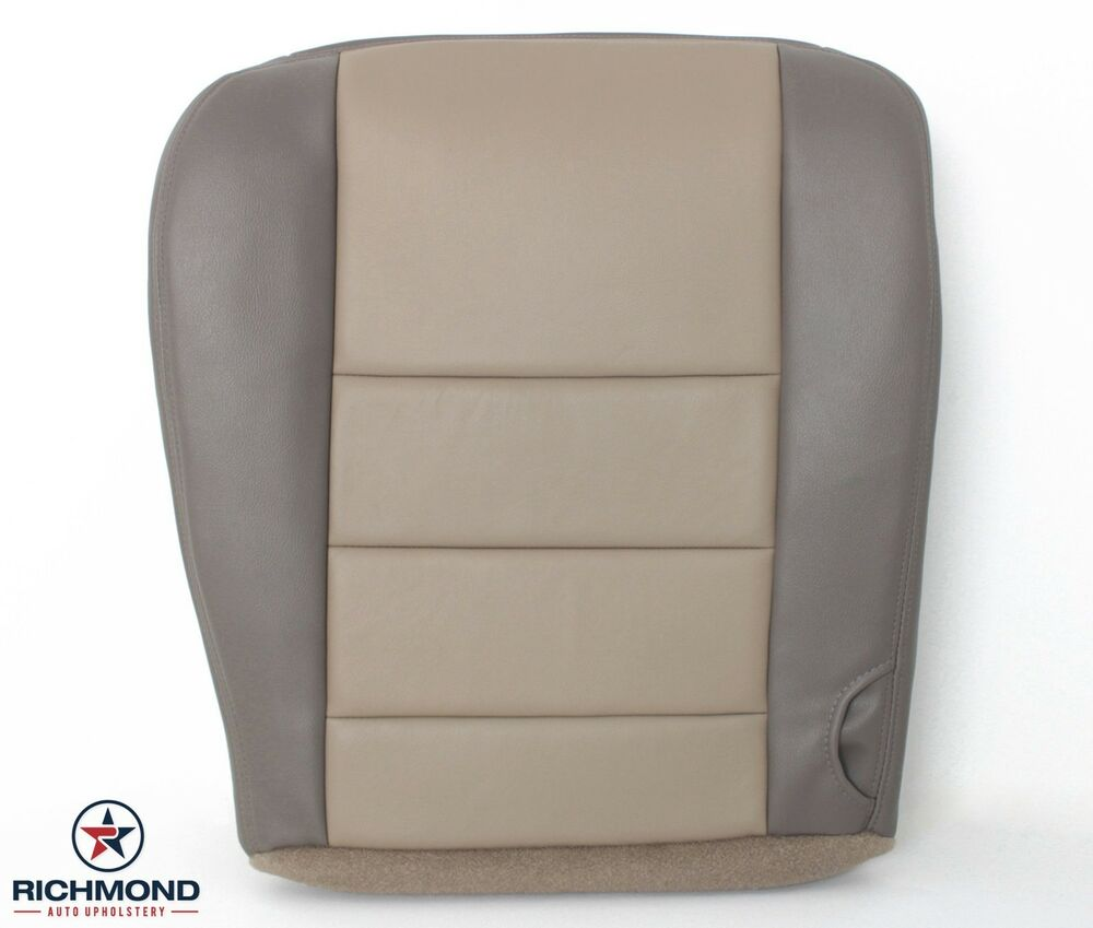 03 04 excursion eddie bauer driver side bottom replacement leather seat cover ebay. Black Bedroom Furniture Sets. Home Design Ideas