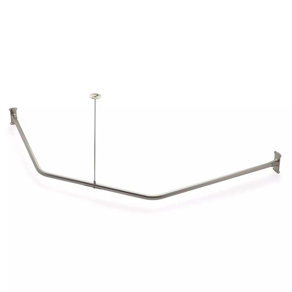 Naiture 30 Quot X 24 Quot X 30 Quot Neo Angle Shower Rod And Ceiling