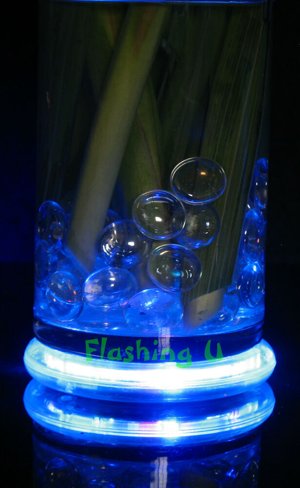 Light up vase bases flashing blinking party supplies