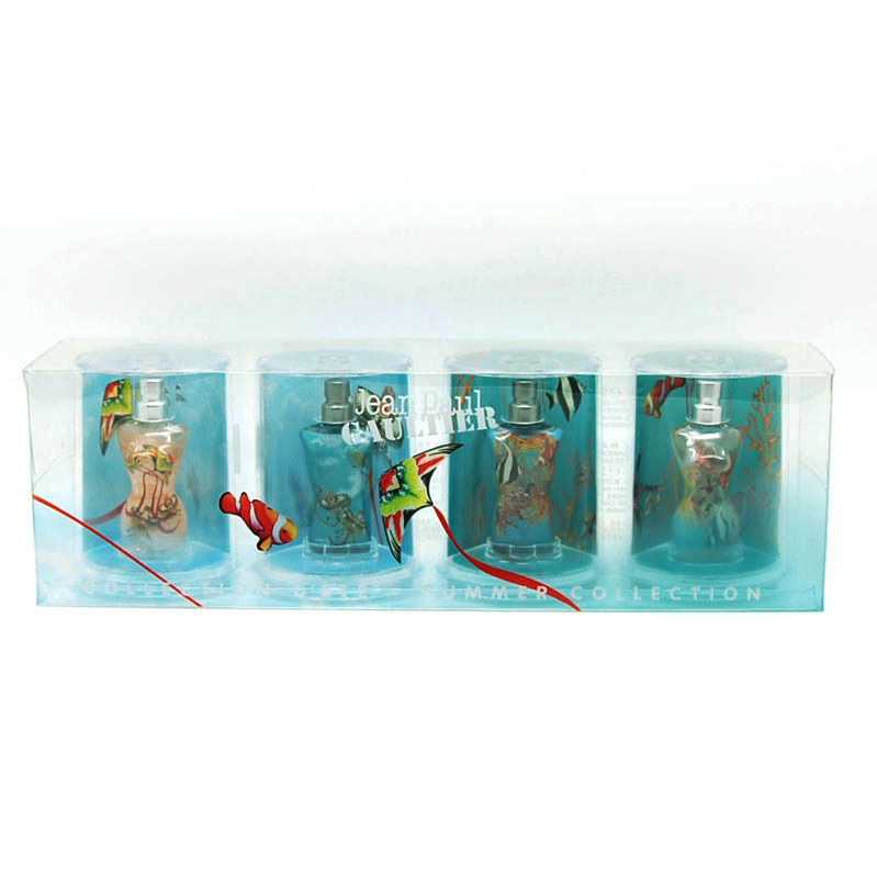 jean paul gaultier summer collection perfume mini set ebay. Black Bedroom Furniture Sets. Home Design Ideas