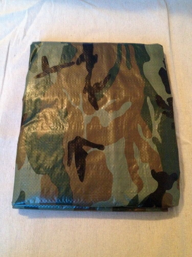 Camouflaging Bug Out Shelter : Camo tarp survival shelter emergency doomsday prepper