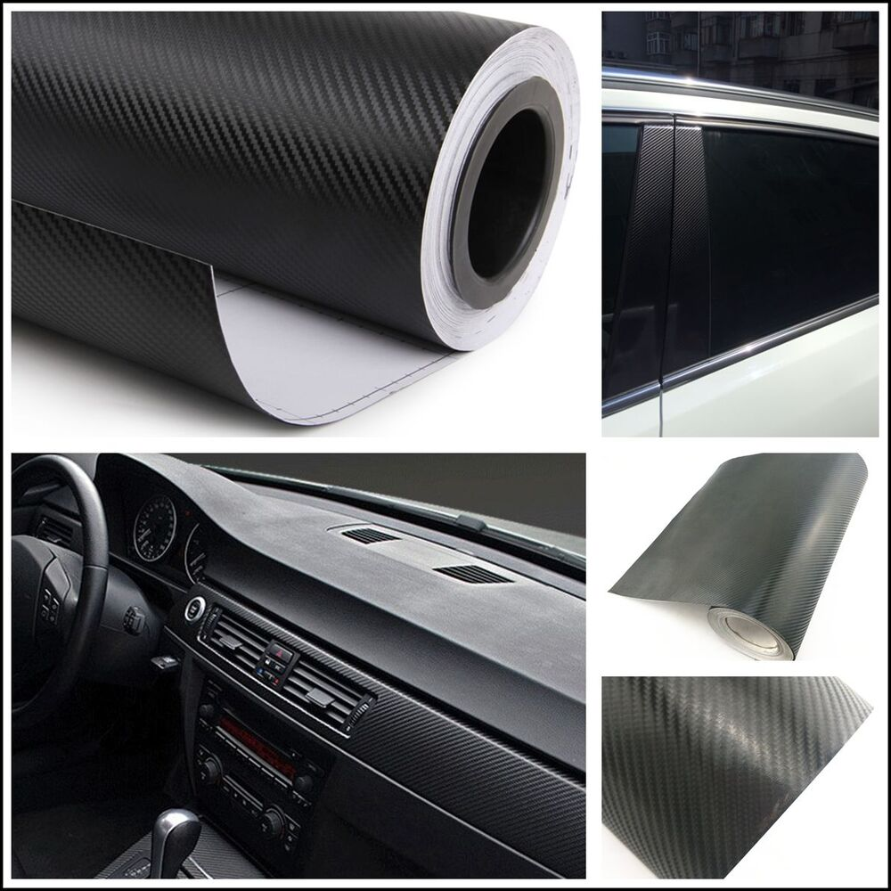 auto interior panel console center armrest box carbon fiber vinyl wrap sticker ebay. Black Bedroom Furniture Sets. Home Design Ideas