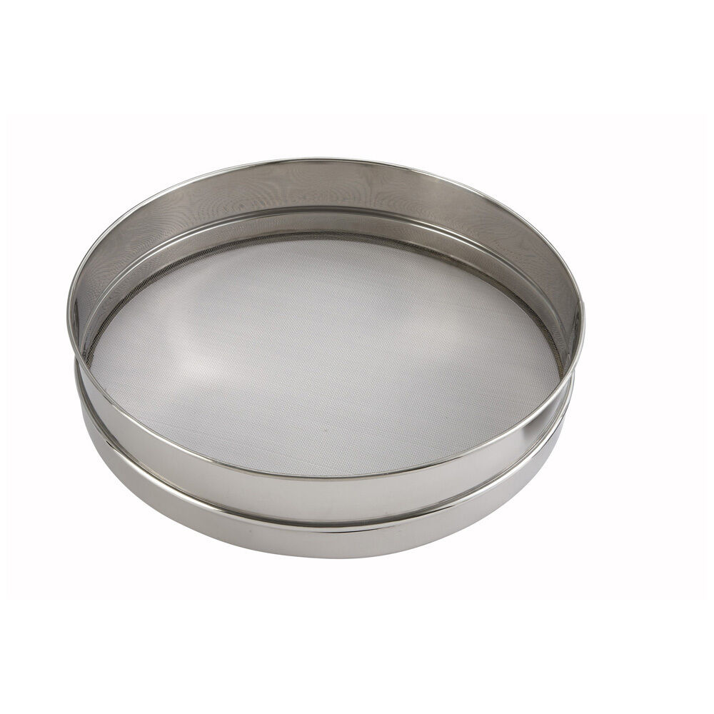 Winco Siv 14 14 Inch Diameter 3 Inch Deep Stainless Steel