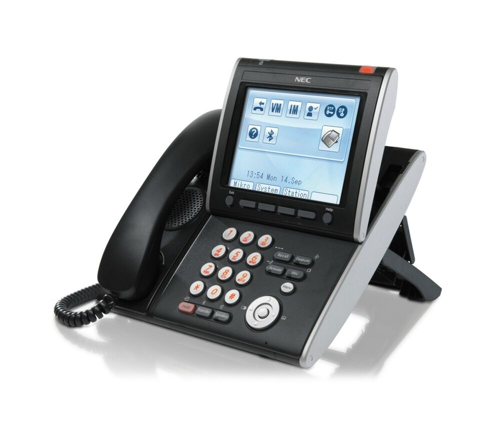 Dt700 phone user manual. Nec dt730 itl-24d ip phone handset infiniti  telecommunications.