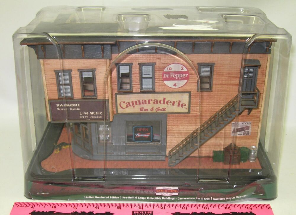 Menards O Gauge Camaraderie Bar Grill Pre Built