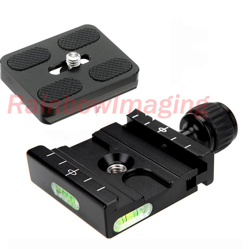 Metal clamp mm quick release plate for manfrotto arca