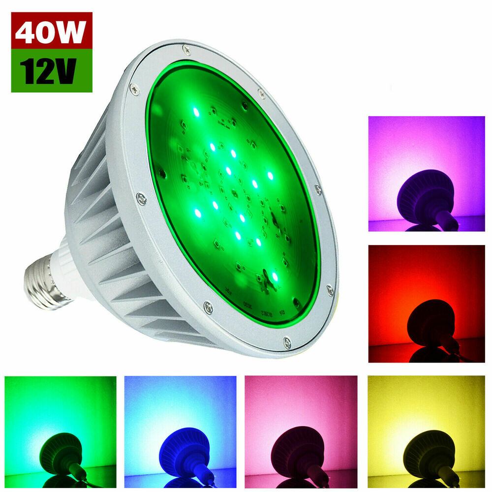 120v 12v 35w Color Change Led Pool Light Bulb For Pentair