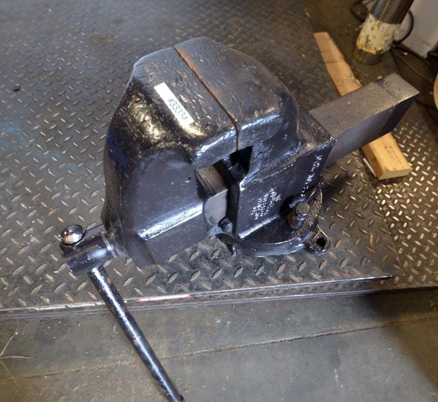 Columbian No 206 Bench Vise Ebay