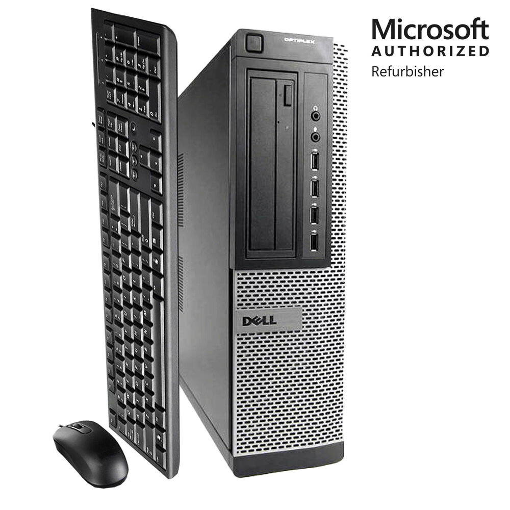 fast hp desktop computer pc intel core i5 2400 quad 3 1ghz 8gb ram 250gb win 10 ebay. Black Bedroom Furniture Sets. Home Design Ideas