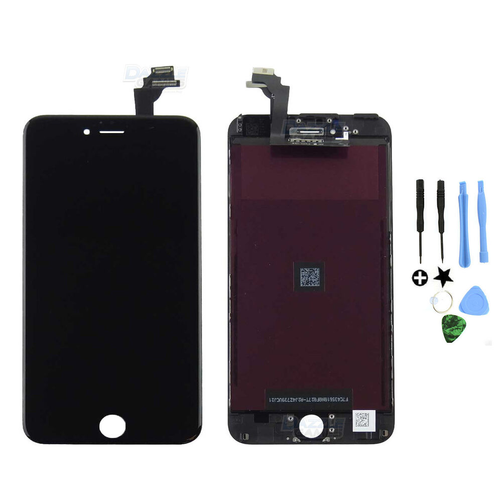 replace screen iphone 6 oem original black touch digitizer lcd screen assembly for 15998