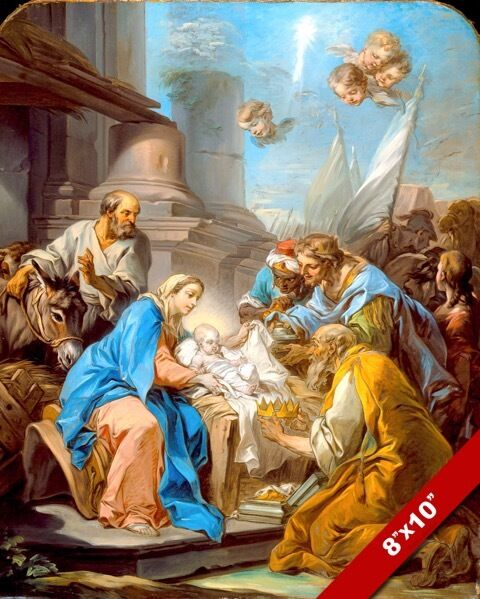 Nativity Painting Images