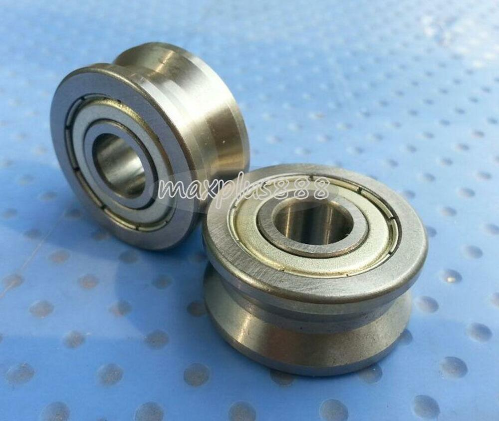 1pcs  V Groove Track Roller Guide Vgroove Sealed Ball Bearing 15*40*18mm New
