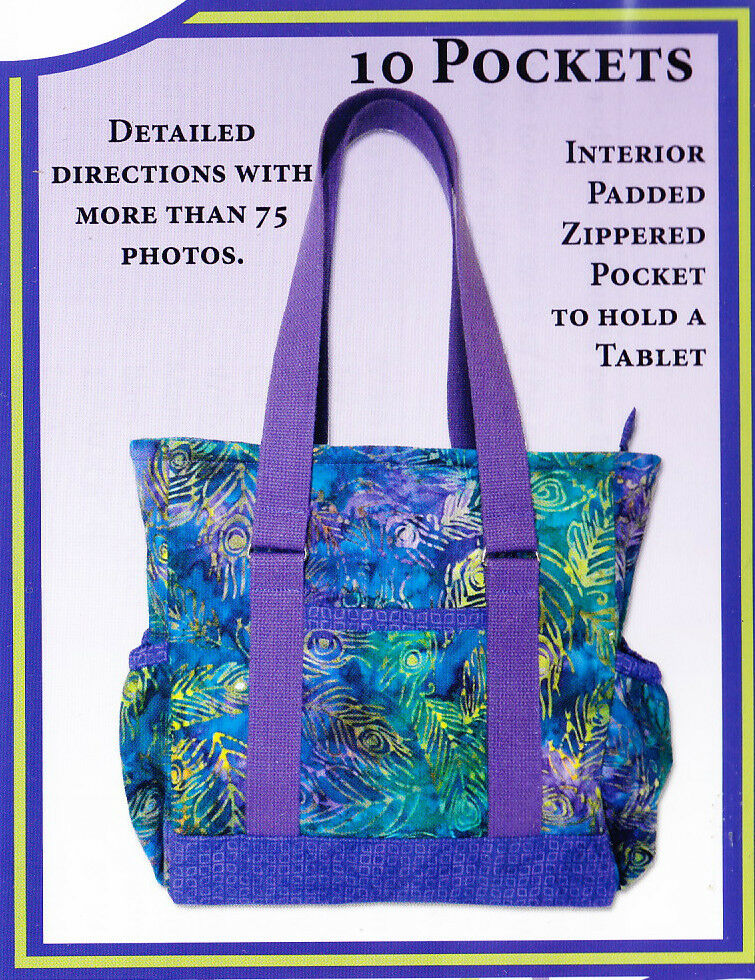 1a61ba5ed5a6 Details about PATTERN - Mini Professional Tote - great bag PATTERN - The  Creative Thimble