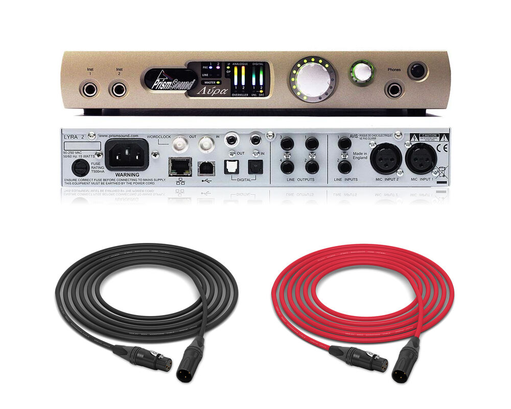 prism sound lyra 2 compact usb audio interface pro audio la ebay. Black Bedroom Furniture Sets. Home Design Ideas
