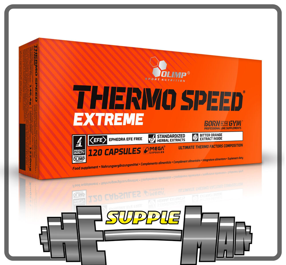 olimp thermo speed extreme mega caps weight loss fat burner ebay. Black Bedroom Furniture Sets. Home Design Ideas