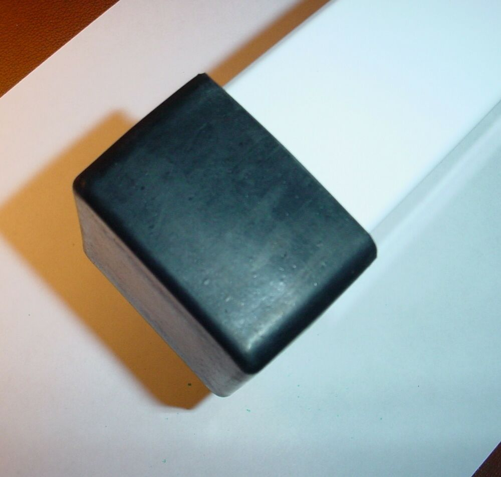 4 Ea Rubber External End Cap Covers For 2 X 2 Square