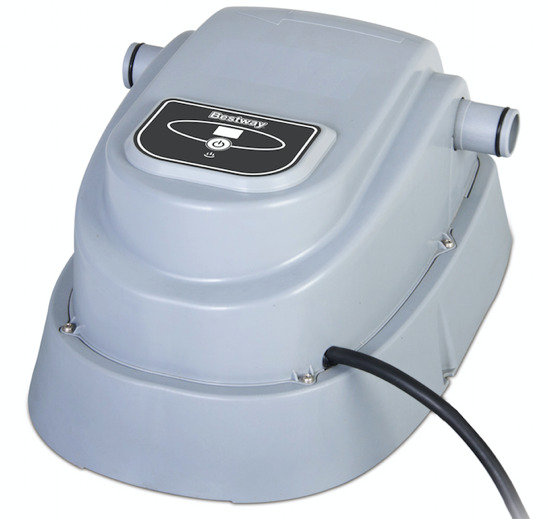 2017 bestway swimming pool heater for pools up to for Paddling pool heater