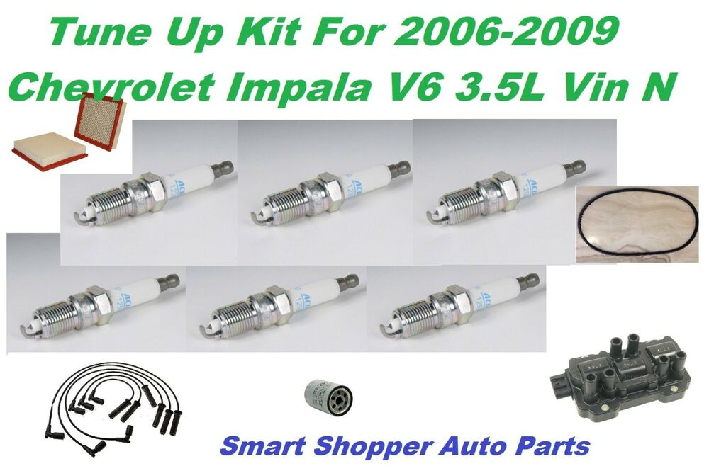 Tune Up Parts List : Ignition tune up for chevrolet impala v