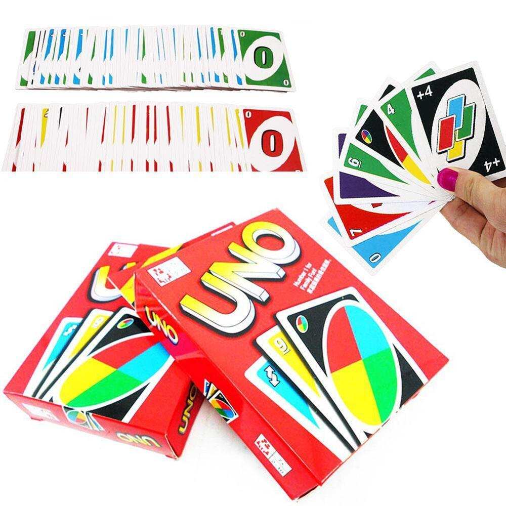 Standard Fun 108 UNO Playing Cards Game For Travel Family