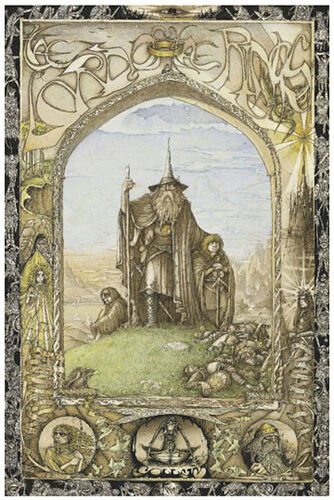 Lotr Book Cover Art : Lotr lord of the rings cover poster cm picture