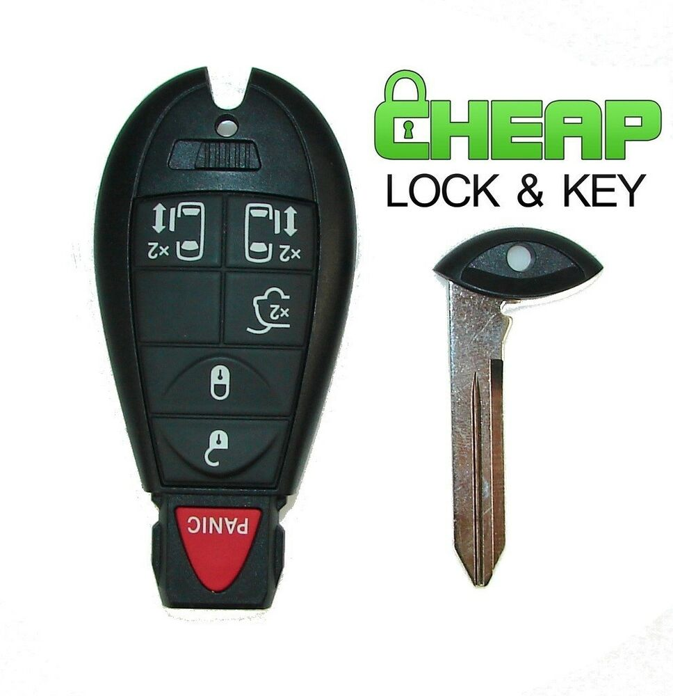 2008-2015 Fobik Key For Dodge Grand Caravan And Chrysler Town & Country