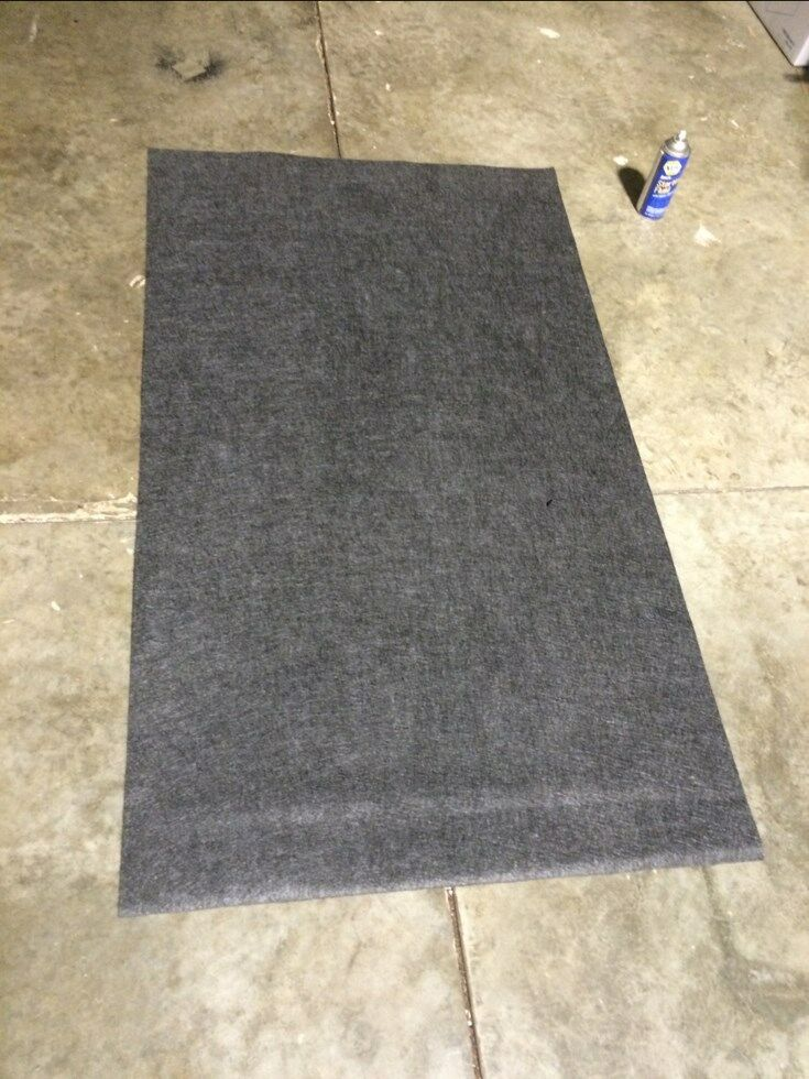 Automotive floor mat protects from oil car leaks ebay for Mechanic floor mats