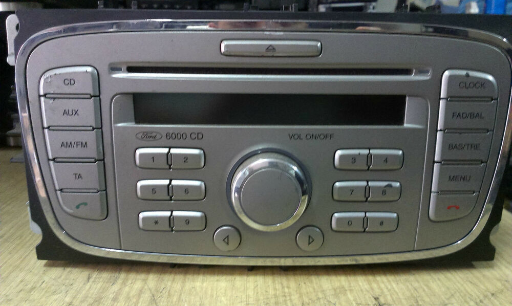 ebay ford 6000 cd player. Black Bedroom Furniture Sets. Home Design Ideas