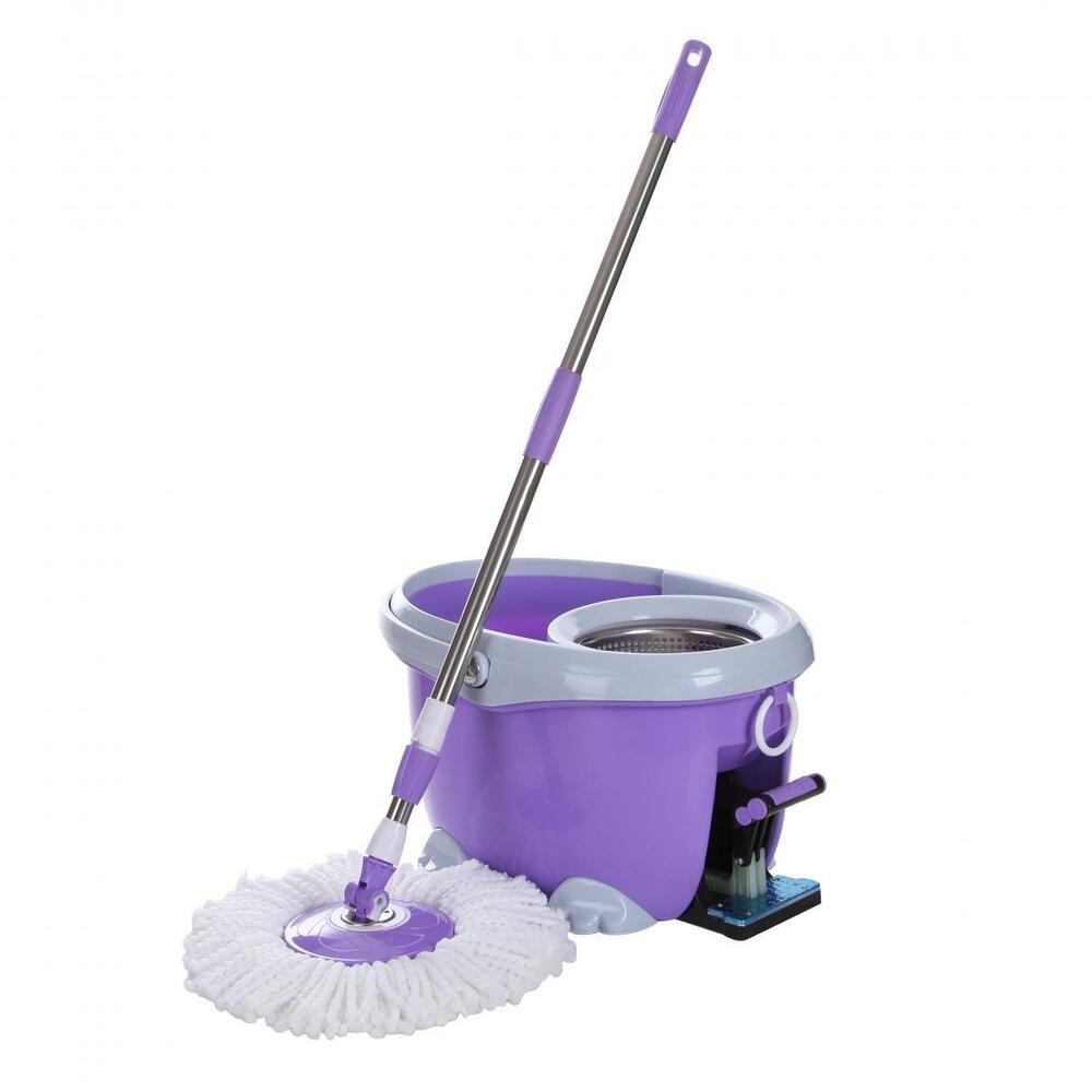 360 176 Rotate Microfiber Spin Mop Amp Bucket System With 2