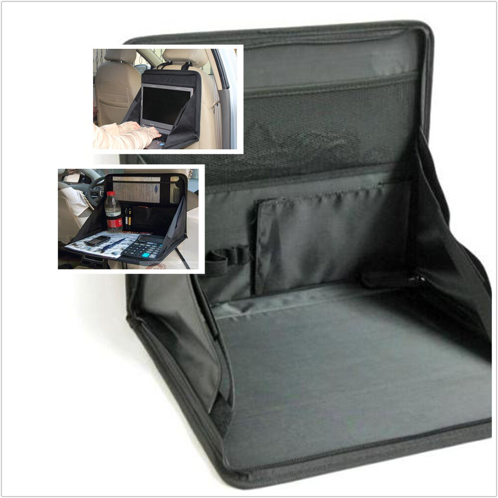 Portable Folding Table Holder Car SUV Seat Mount Tray